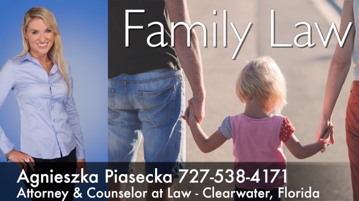 Attorney Agnieszka Aga Piasecka Family Law Clearwater