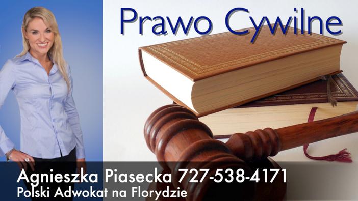 Polski Prawnik Adwokat Agnieszka Aga Piasecka Prawo Cywilne