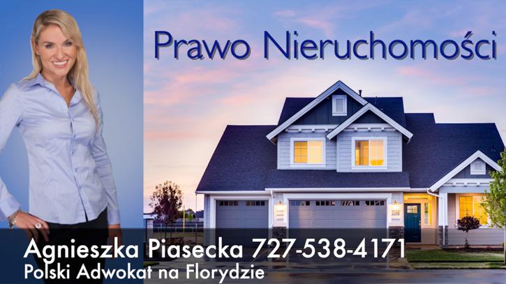 Polski Prawnik Adwokat Agnieszka Aga Piasecka Prawo Nieruchomosci