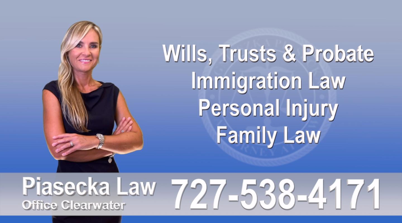 Agnieszka Piasecka Law, Wills, Trust, Probate, Florida, Polish, Attorney, Lawyer, Polski, Prawnik, Adwokat, Floryda, USA, Agnieszka Piasecka, Aga Piasecka, Piasecka